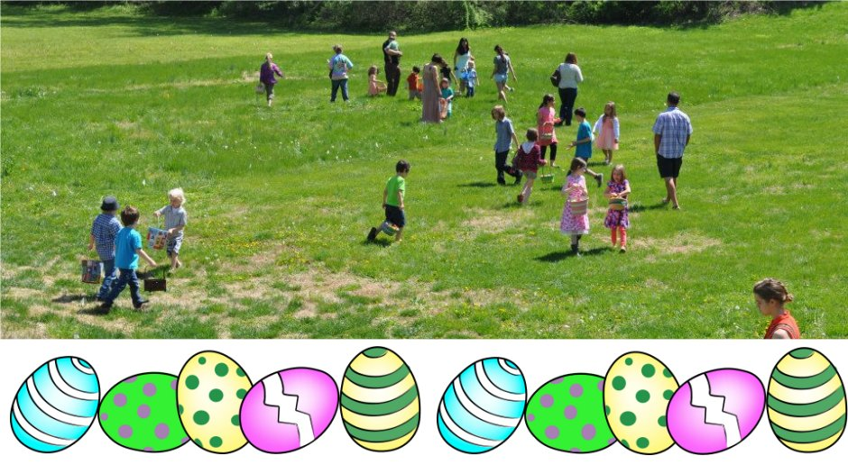 People on an Egg Hunt