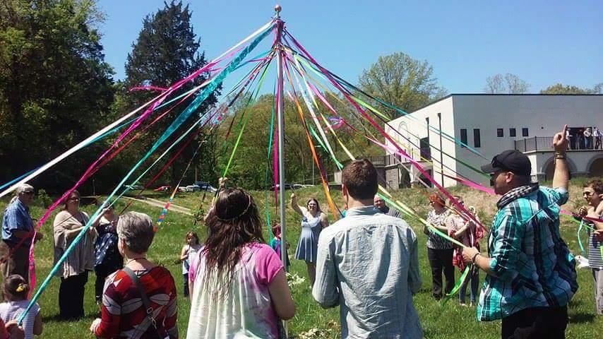 May Pole Dance