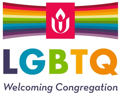 UUA Logo with Welcoming Congregation text