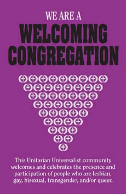 Poster for a Welcoming Congregation